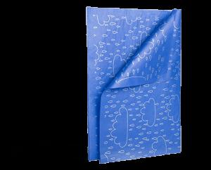 Seidenpapier mit Aufdruck