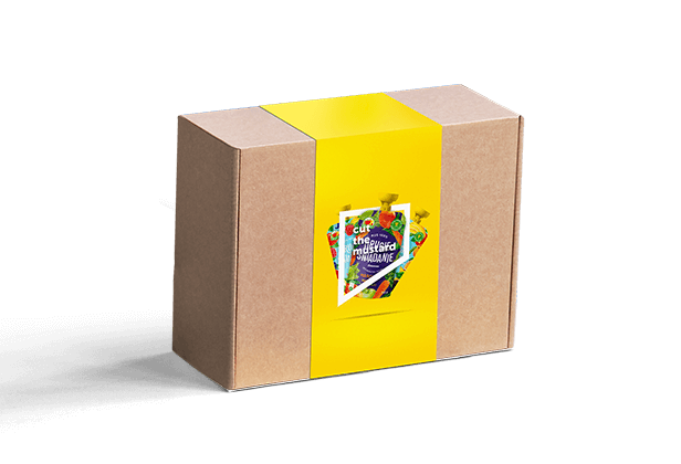 Karton-Banderolen